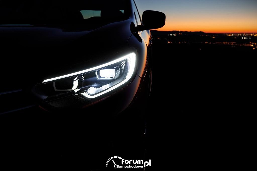 Renault Kadjar, światła przednie LED