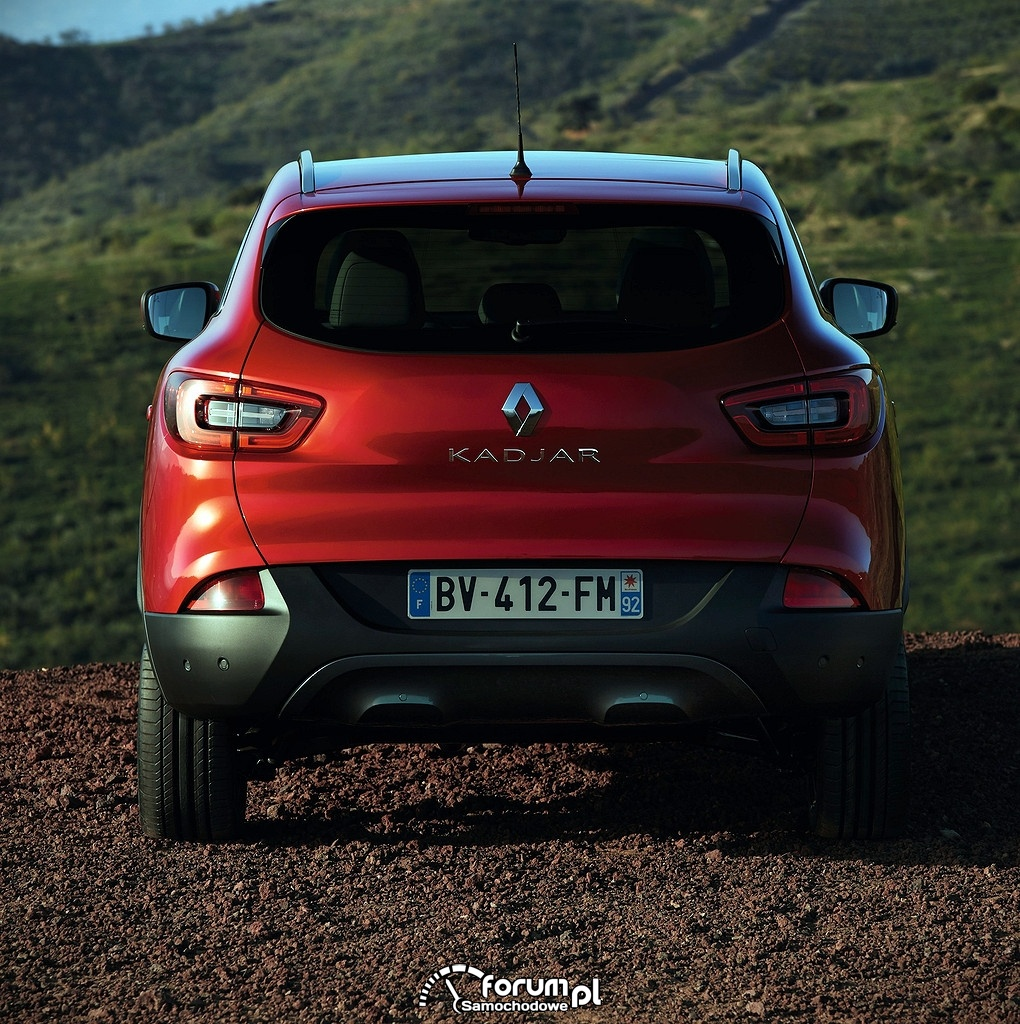 Renault Kadjar, tył