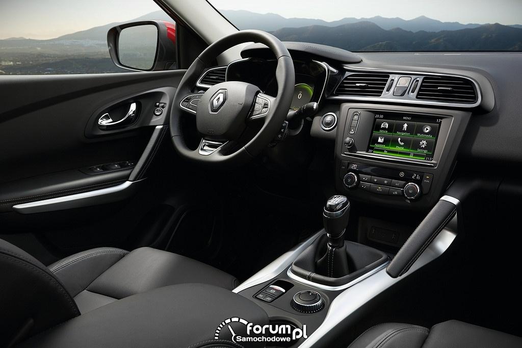 Renault Kadjar, wnętrze