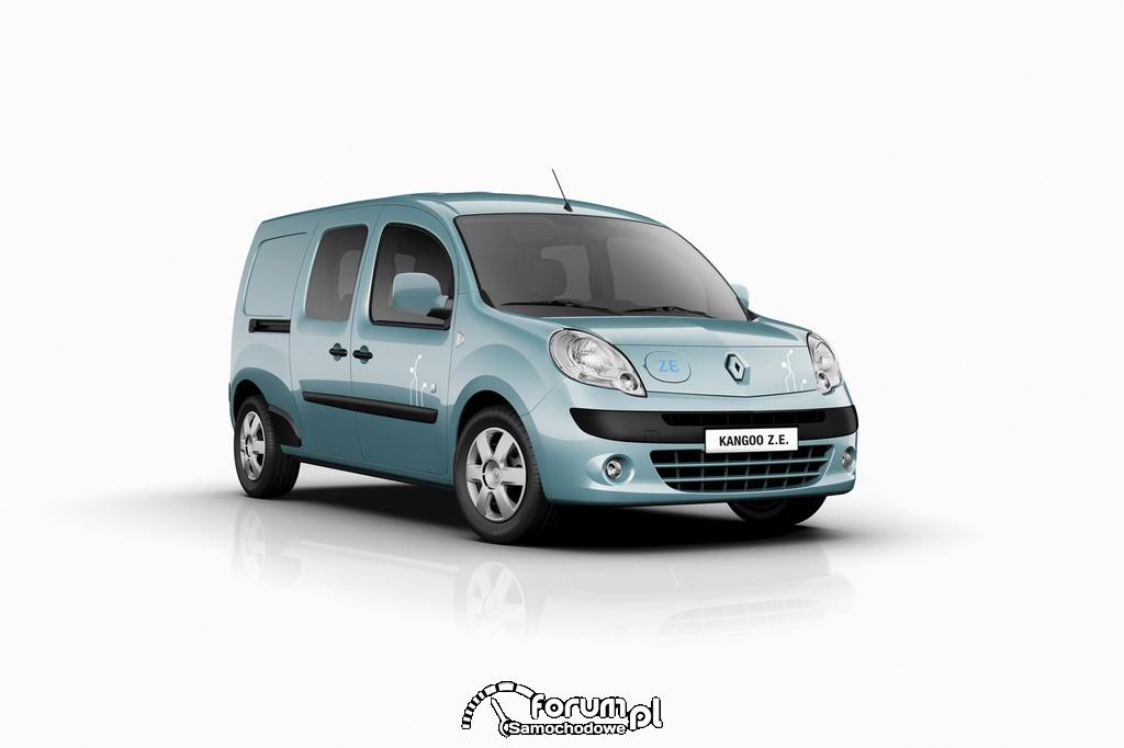 Renault Kangoo Z.E. - elektryczny samochód użytkowy