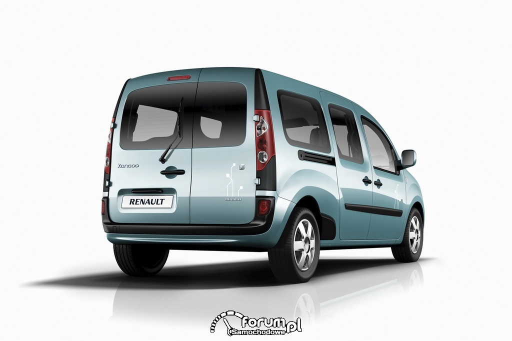 Renault Kangoo Z.E., tył