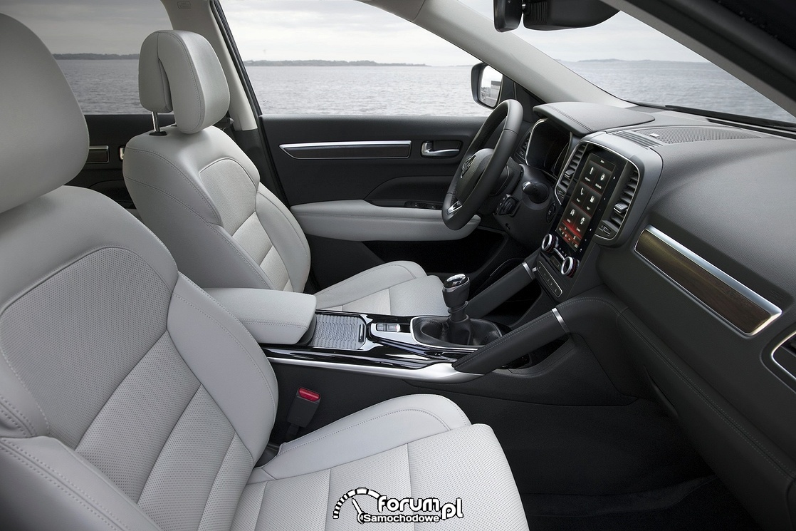 Renault Koleos, jasne wnętrze