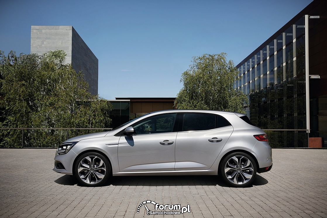 Renault Megane, 2015, bok