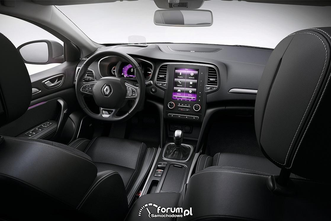 Renault Megane, wnętrze