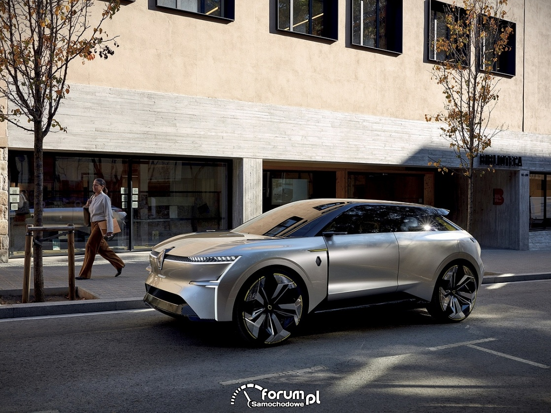 MORPHOZ - ciekawa stylistyka samochodu elektrycznego