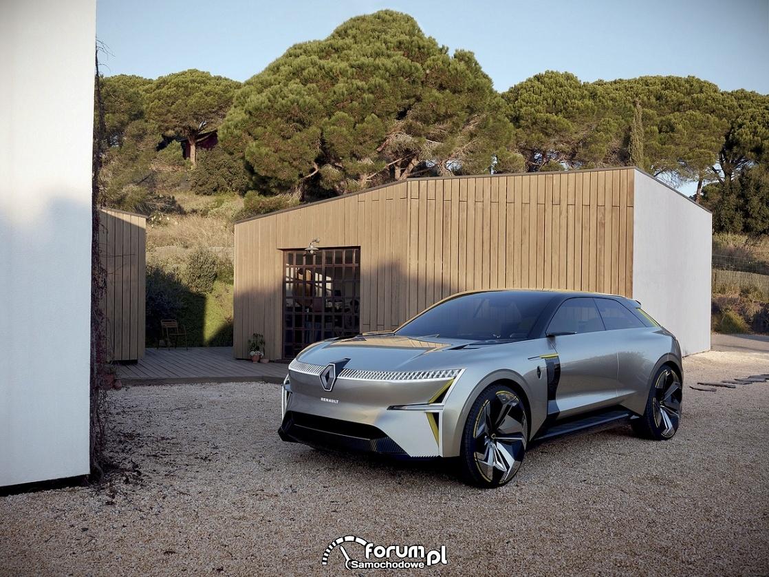 Renault MORPHOZ - samochód koncepcyjny, przód