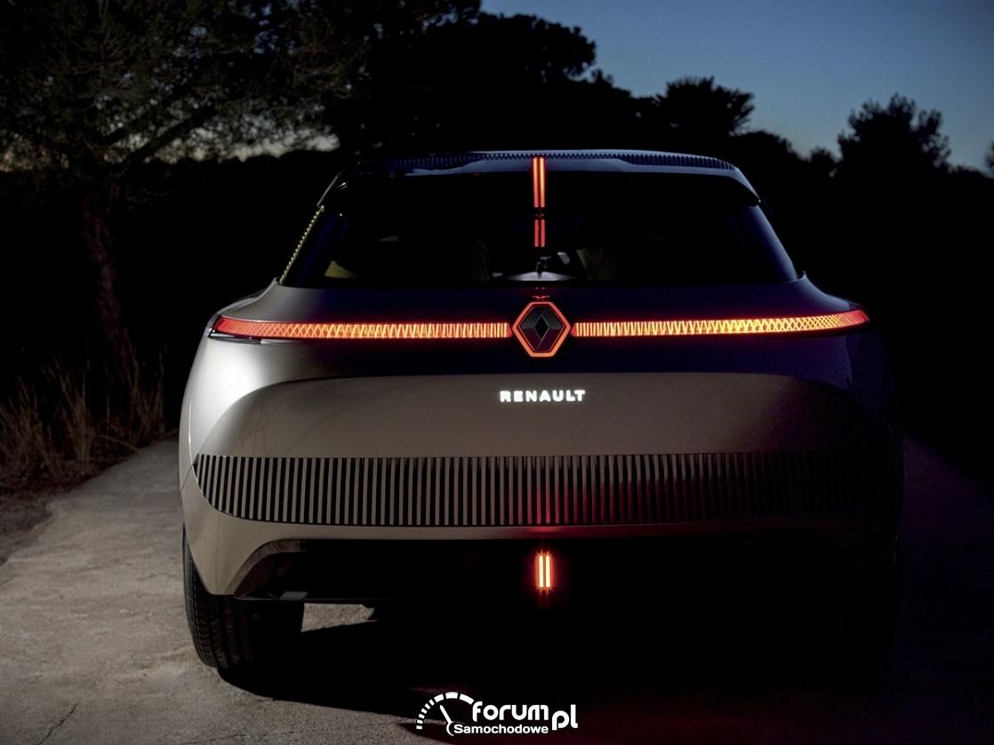 Renault MORPHOZ - samochód koncepcyjny, tył