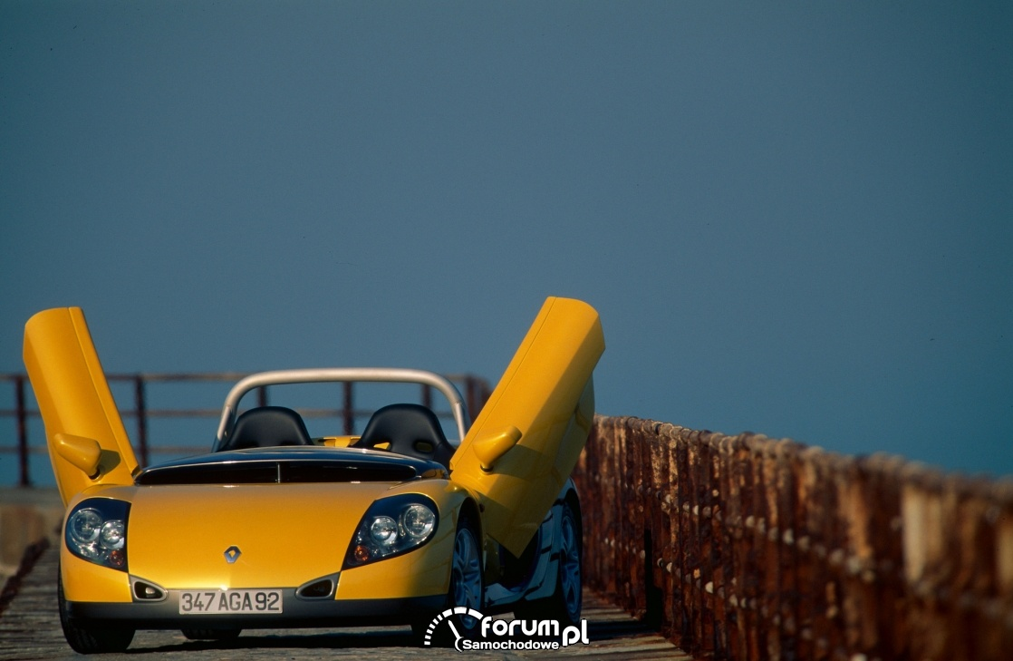 Renault Spider, lambo doors