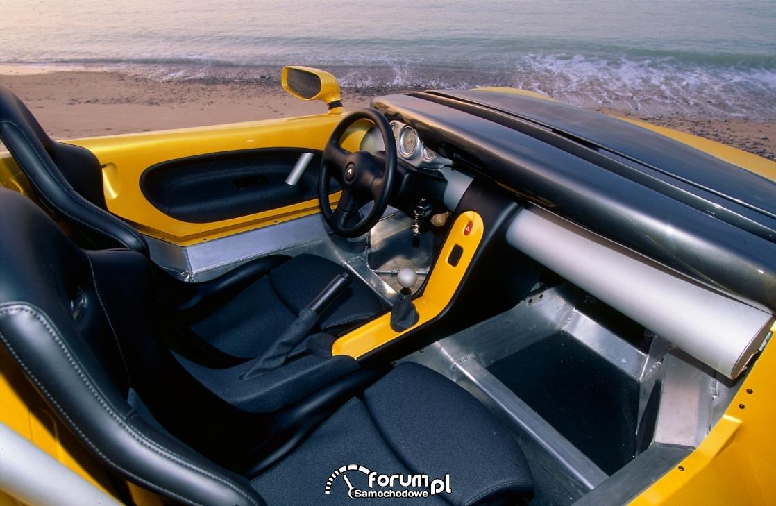 Renault Spider, wnętrze