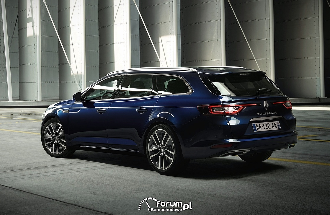 Renault Talisman Grandtour, tył