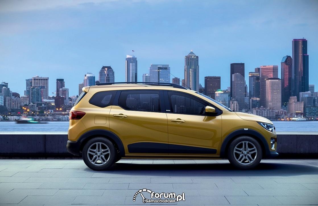 Renault Triber, bok