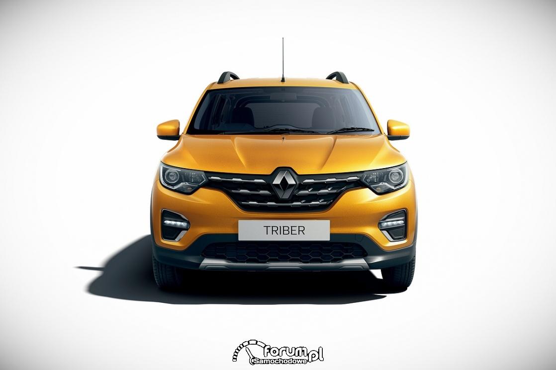Renault Triber, przód