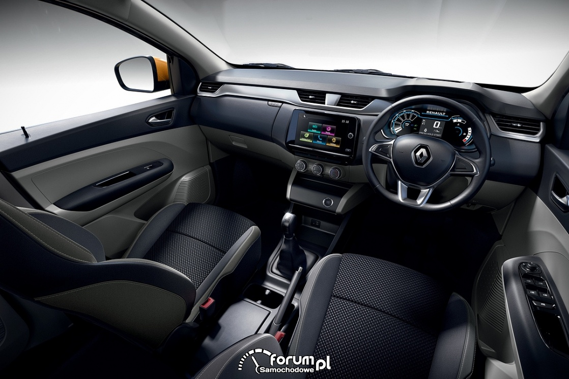 Renault Triber, wnętrrze