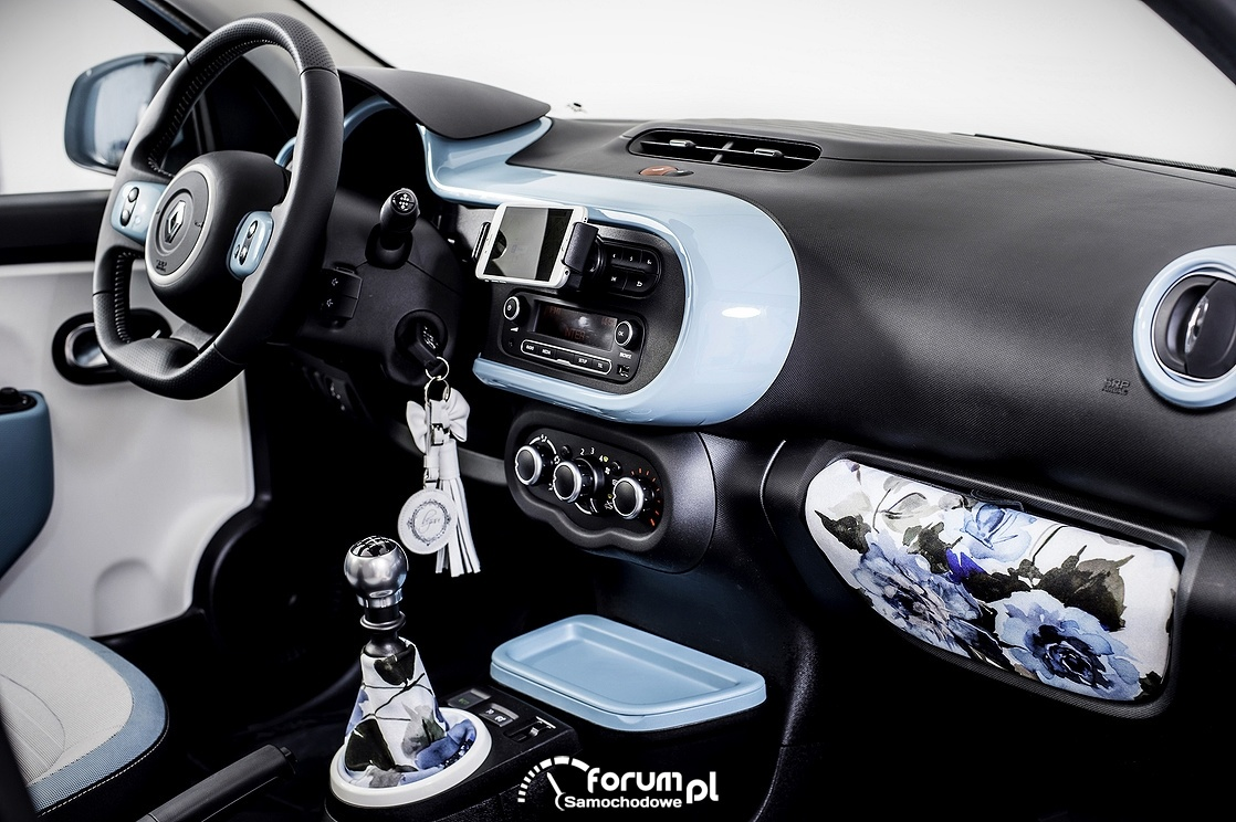 Renault Twingo Bizuu, wnętrze