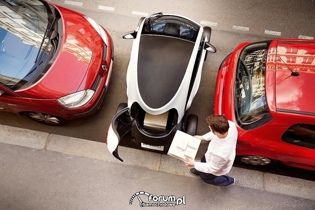 Renault Twizy, parkowanie w mieście