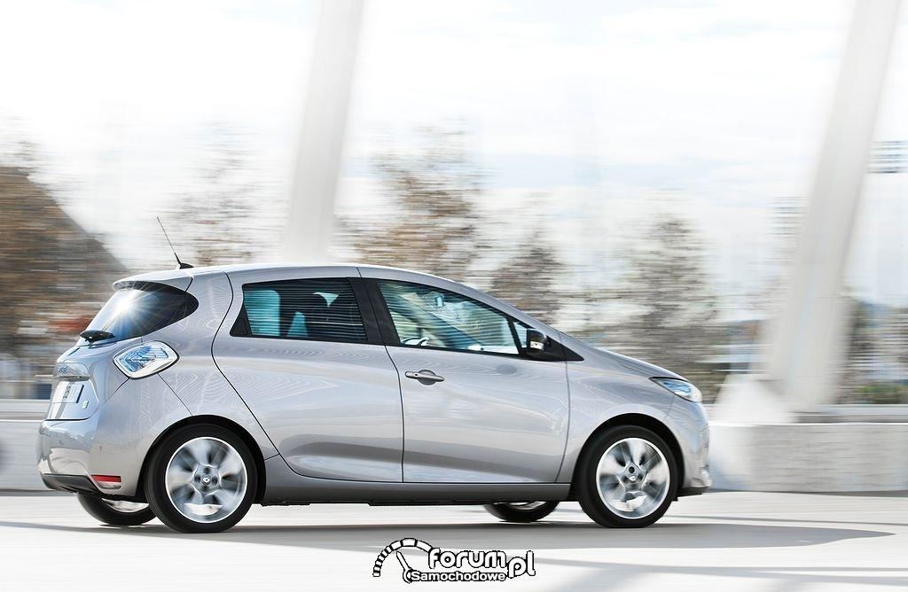 Renault ZOE, bok