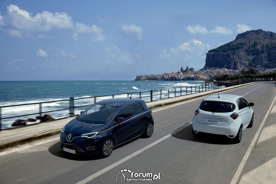 Renault ZOE Riviera limited edition, przód i tył