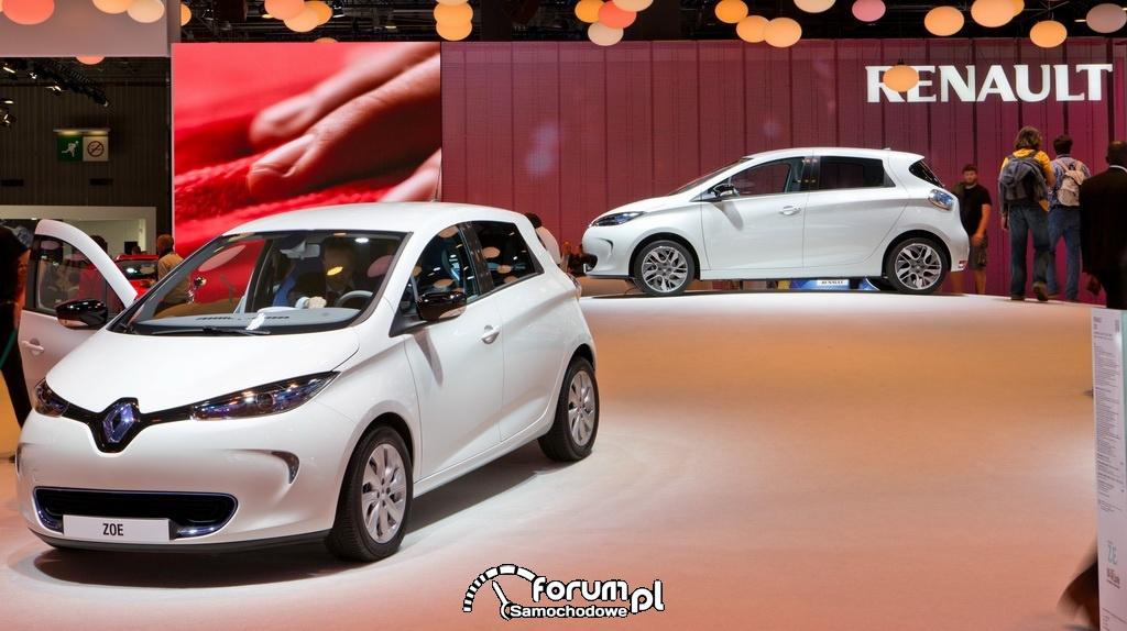 Renault ZOE, samochód elektryczny