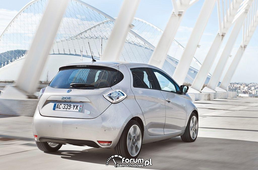 Renault ZOE, tył