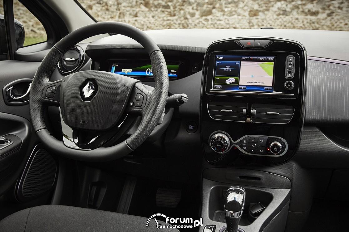 Renault ZOE, wnętrze