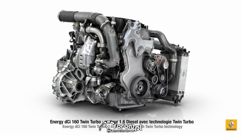 Silnik 1.6 l Energy dCi 160 Twin Turbo, Renault