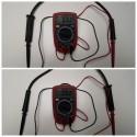 Oporność kabli wysokiego napięcia o długości 54cm
