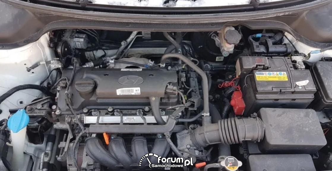 Silnik 1.4 Kappa (G4LC) MPI, Hyundai i20 - automatyczna skrzynia