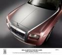 Rolls-Royce Ghost, kolor róża kwarcowa