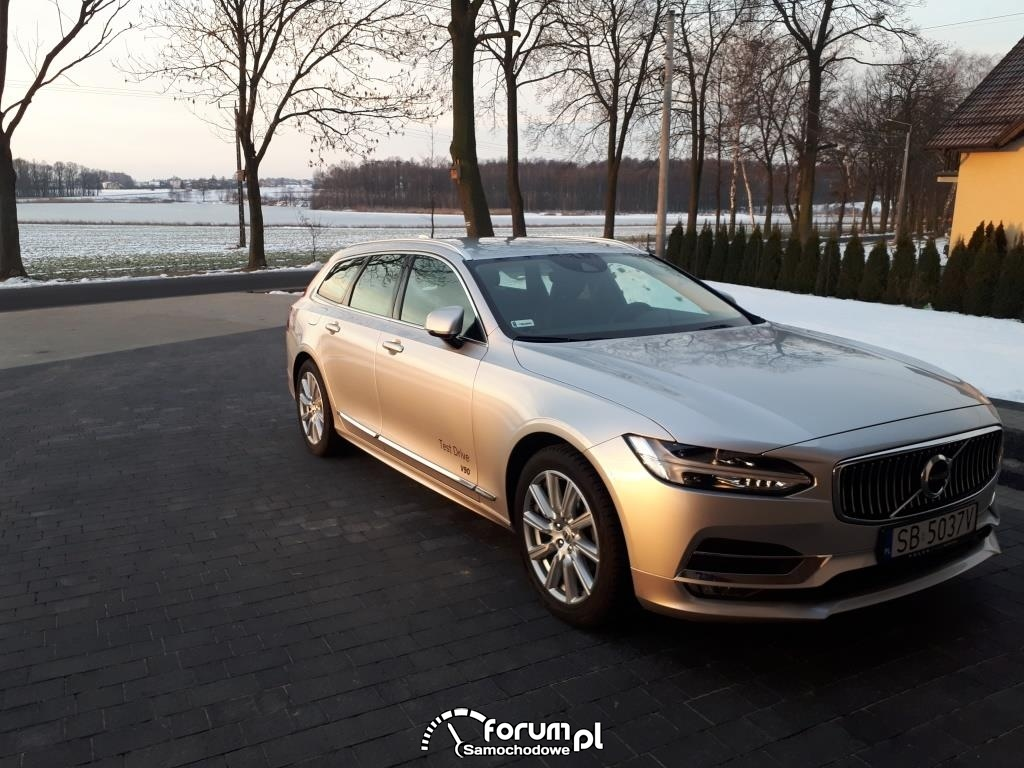 Test Volvo V90 2018r. D4 190KM Inscription