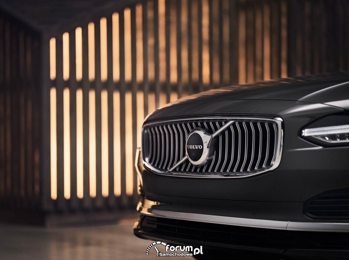 Volvo, przedni grill z logo