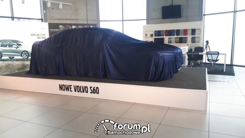 Volvo S60, samochód przed prezentacją