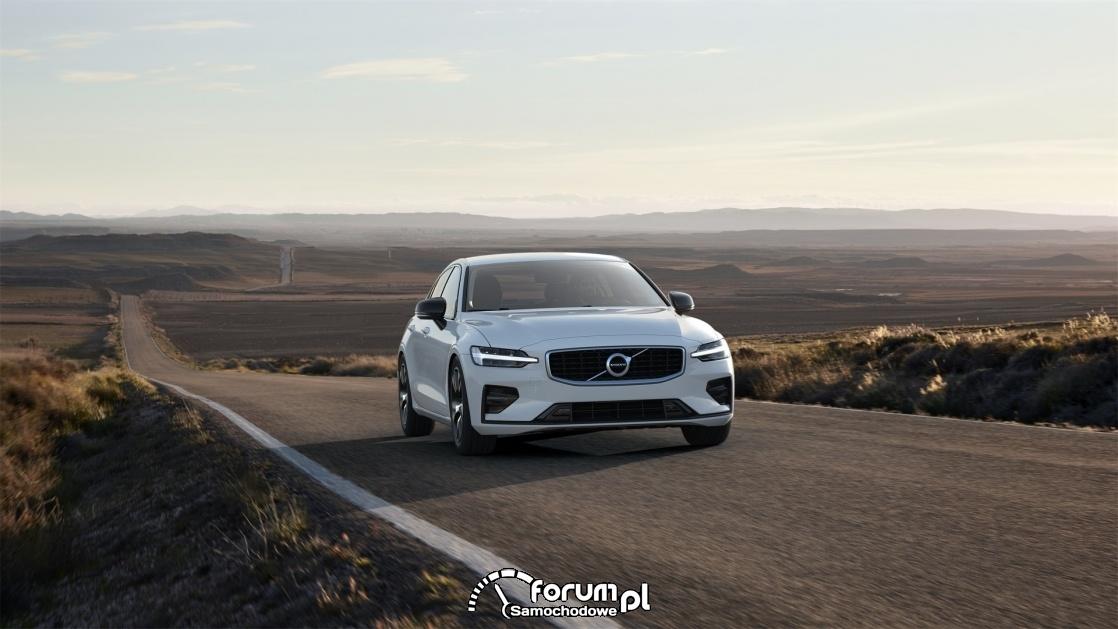 Volvo S60 T4 190 KM R-Design, przód