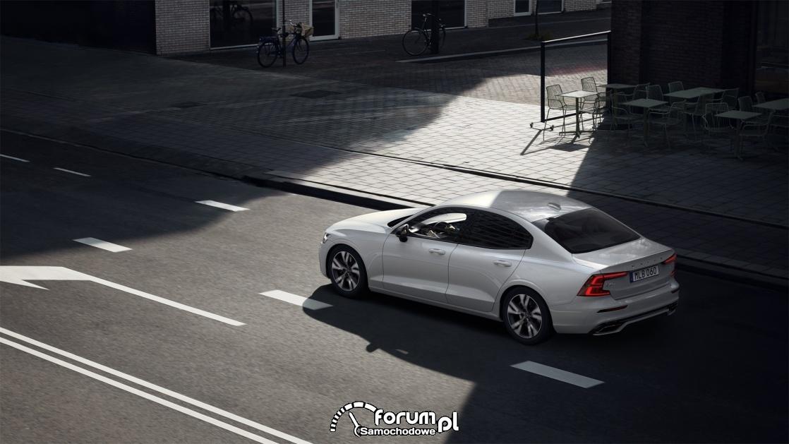 Volvo S60 T4 190 KM R-Design, widok z góry