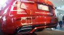Volvo S60 T5 R-Design, tył, chromowana końcówka wydechu