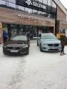 Volvo, Szczyrk, zima