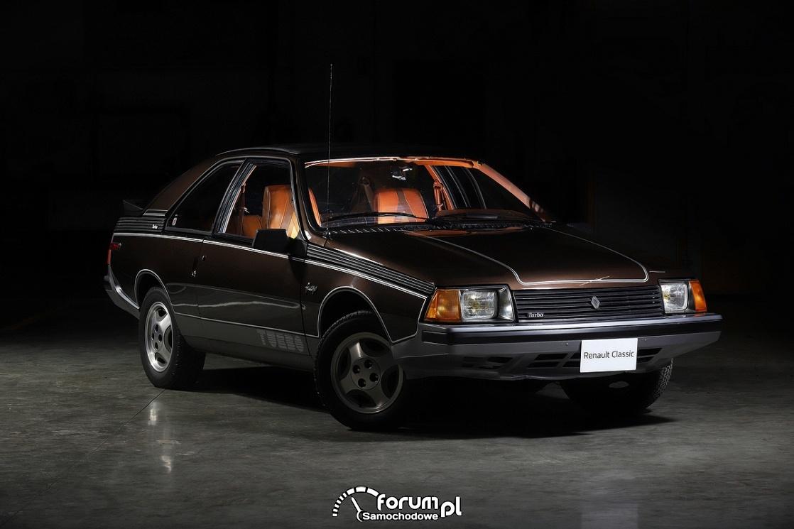 Renault FUEGO Turbo USA, przód, 1982 rok