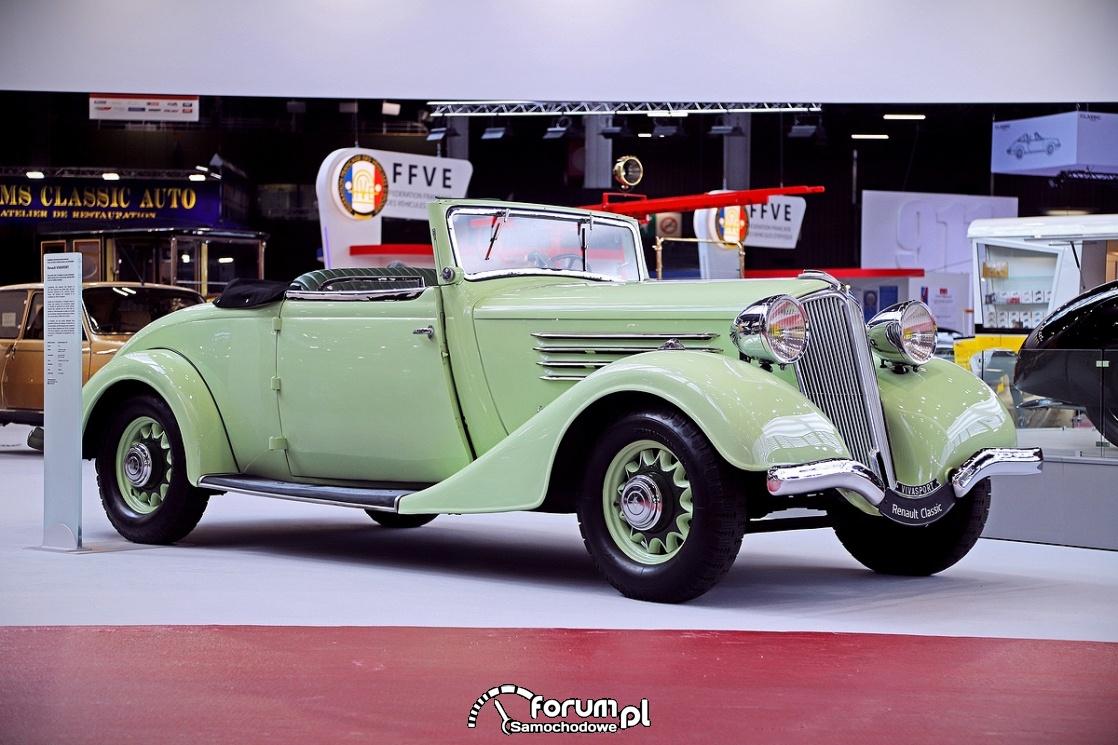 Renault VIVASPORT Cabrio, 1935 rok