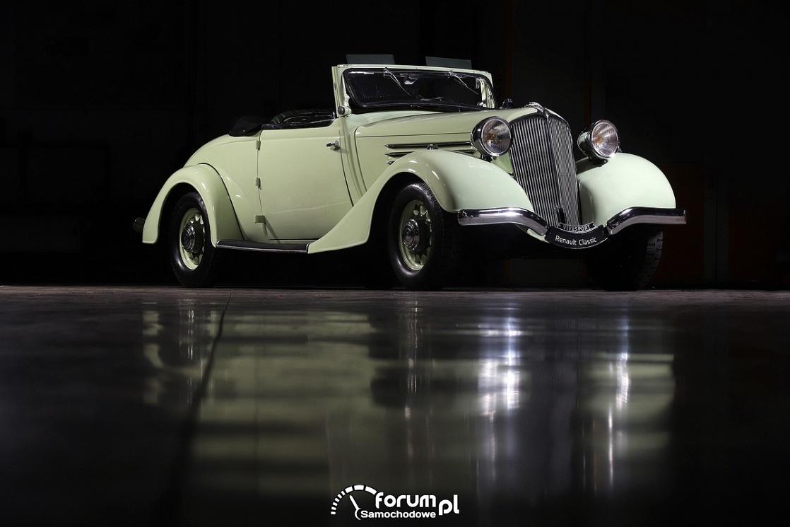 Renault VIVASPORT Cabriolet, 1935 rok