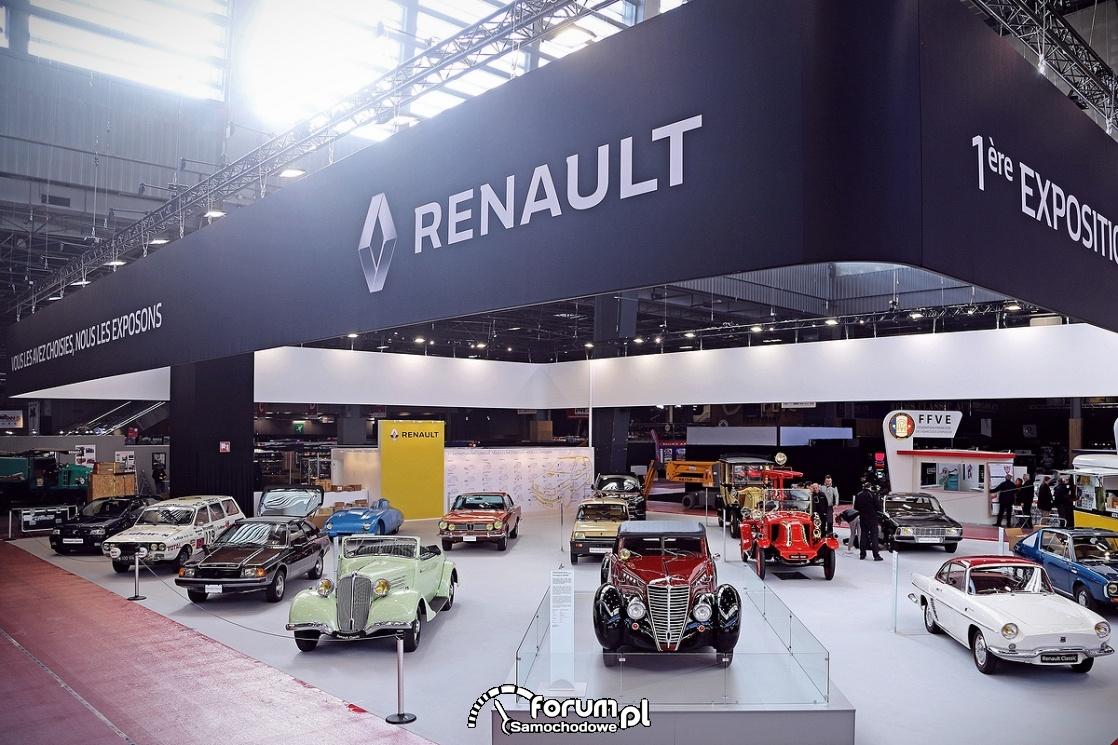 Samochody zabytkowe Renault