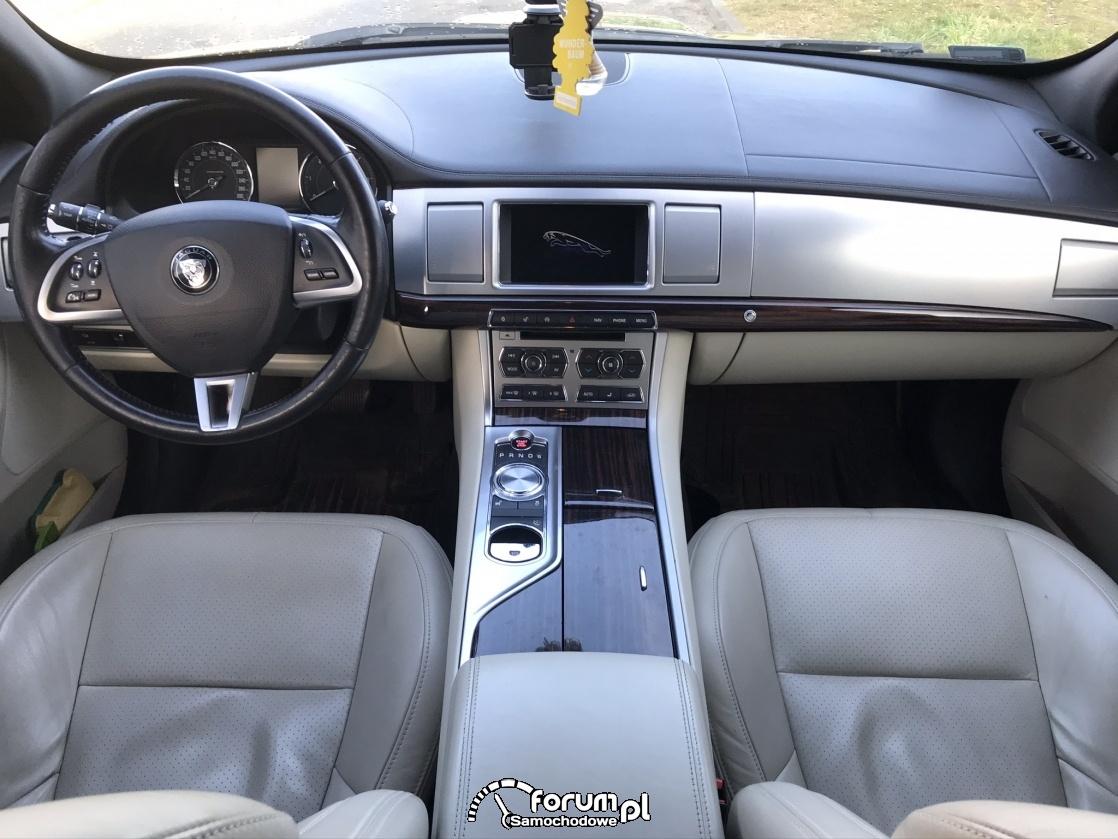 Jaguar XF Sportbrake, wnętrze