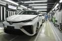 Linia produkcyjna wodorowej Toyoty Mirai
