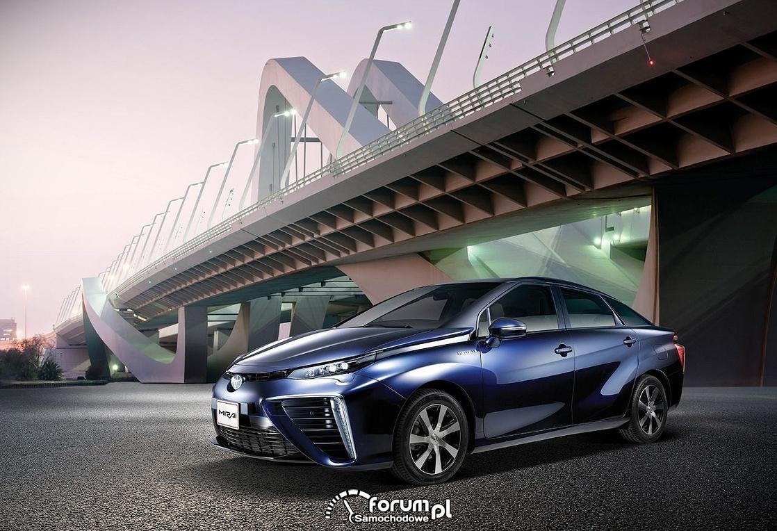 Toyota Mirai, most