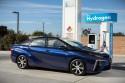 Toyota Mirai, na stacji, Shell Hydrogen