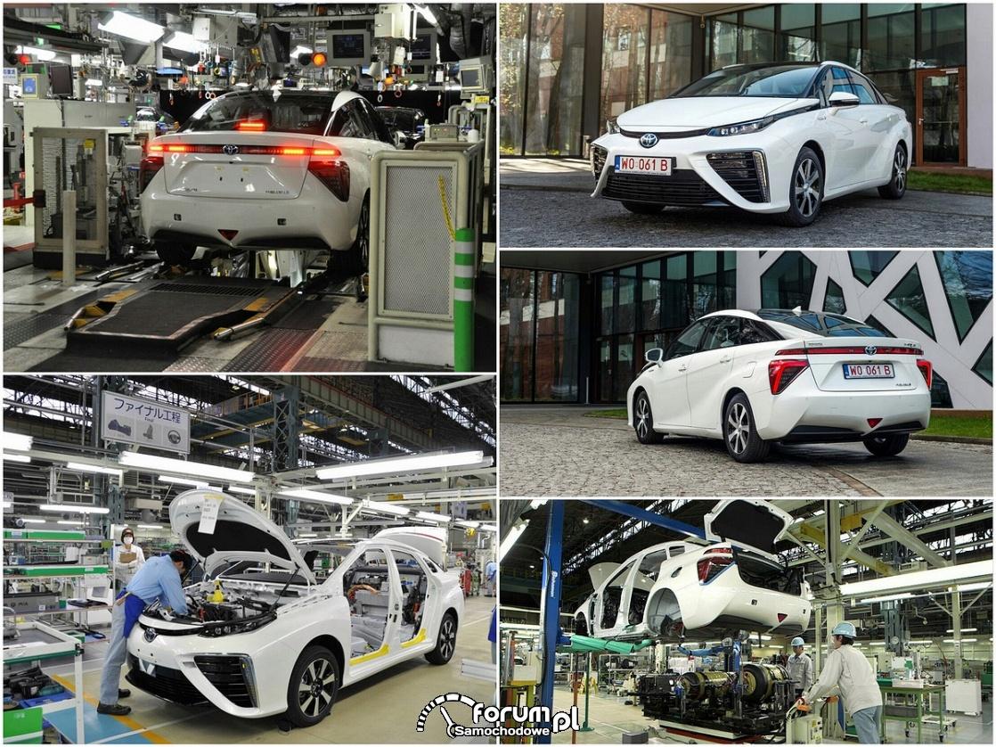 Toyota Mirai, produkcja