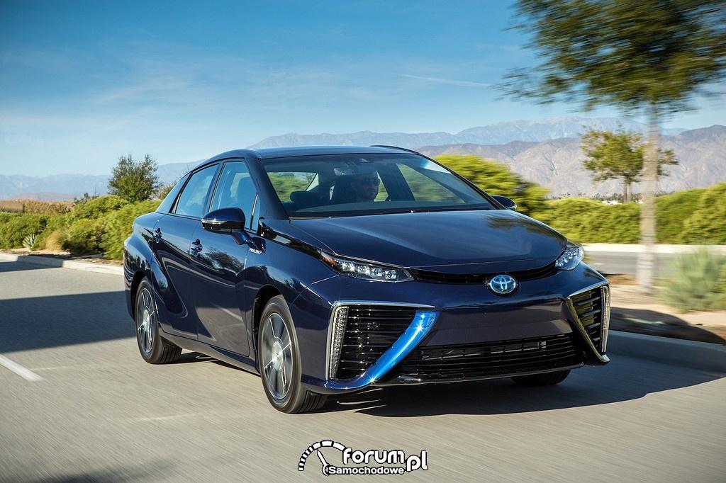Toyota Mirai, przód