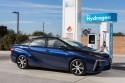 Toyota Mirai, stacja do tankowania wodoru