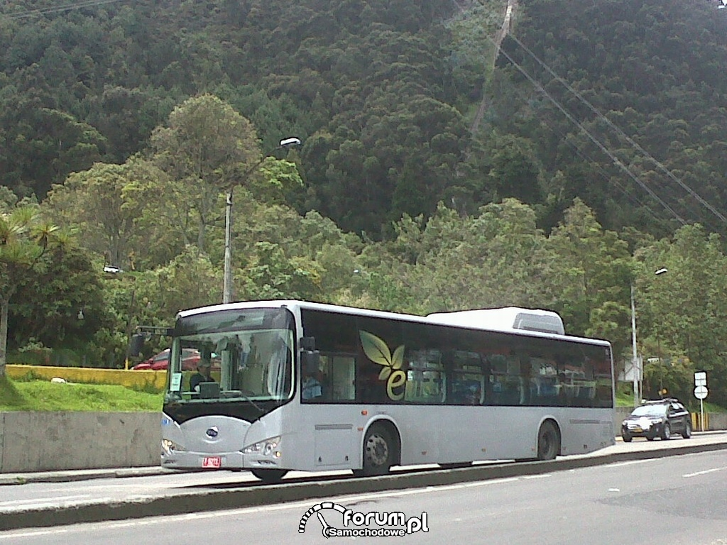 BYD eBus, autobus elektryczny