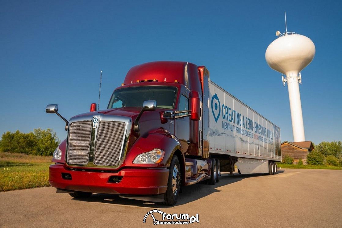 Ciężarówka na wodór, fuel cell heavy truck