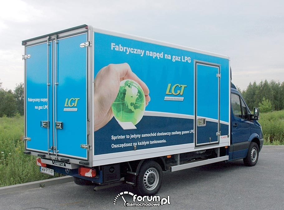 Fabryczny napęd na gaz LPG, Sprinter 316 LGT