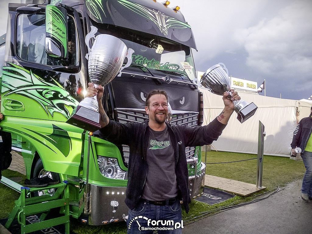 Highway Hero - Mercedes-Benz Actros 2551 zwycięzcą Nordic Trophy 2014